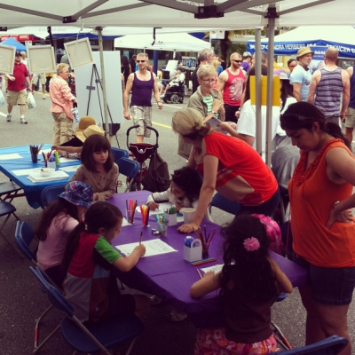 "@westendbia: ""The West End Youth Art Jam with @ModernArtCo is"