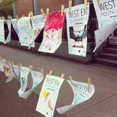 "@westendbia: ""The awesome results of our West End Youth Art"