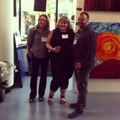 """@westendbia: """"Great seeing these three! Jill and Lisa from @CreativeBStro"""