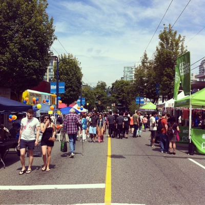 "@westendbia: ""An absolutely beautiful day for @CarFreeWestEnd today! #westendyvr"""
