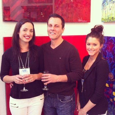 """@westendbia: """"Thank you to our gracious hosts, Rebecca, Stewart and"""