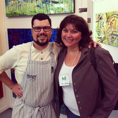 "@westendbia: ""Great seeing @ChefWhittaker from @foragevancouver and Kathy Ross from"
