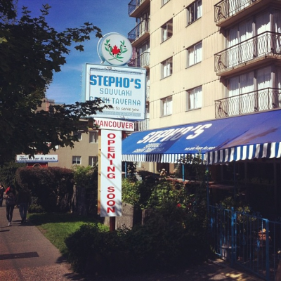 "@westendbia: ""Stepho's Souvlaki Greek Taverna is about to open a"