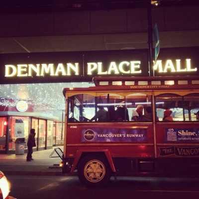 """@westendbia: """"All aboard! The #ShineShopDine trolley will be at @DenmanPlaceMall"""
