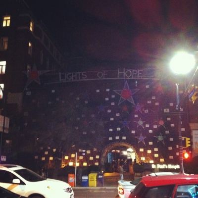 "@westendbia: ""The countdown is on! @helpstpauls #LightsOfHope comes to life"