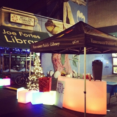 "@westendbia: ""Thanks to @atomic2lighting for lighting up our TOY DRIVE"