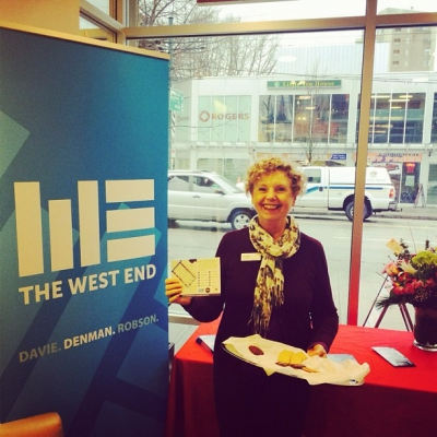 "@westendbia: ""West End BIA Board Member Mary Phelps was spreading"