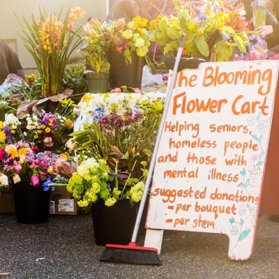 "@westendbia: ""Brighten up a loved one's weekend with a bouquet"