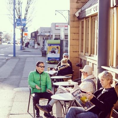 """@westendbia: """"Coffee culture. #westendyvr #denmanstreet"""""""