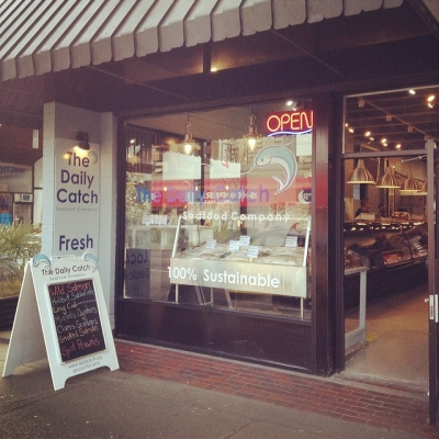 """@westendbia: """"Now open in the Davie Village: @The_Daily_Catch! Welcome to"""