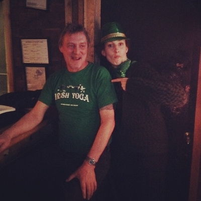 "@westendbia: ""Irish Yoga t-shirts are kind of like a #westendrainbow!"