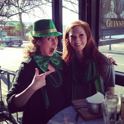 "@westendbia: ""Oy! We found Kasha, the St. Patty's Day birthday"