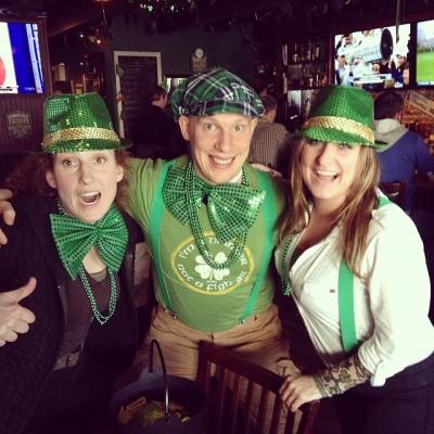 "@westendbia: ""Fiddle-dee-dee! We've spotted the @QueerImprov leprechauns at @ShamrockAlley! Follow"