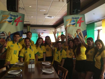 World Cup at Rio Brazilian Steakhouse