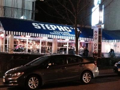 Stepho's Souvlaki Greek Taverna now boasts two West End locations