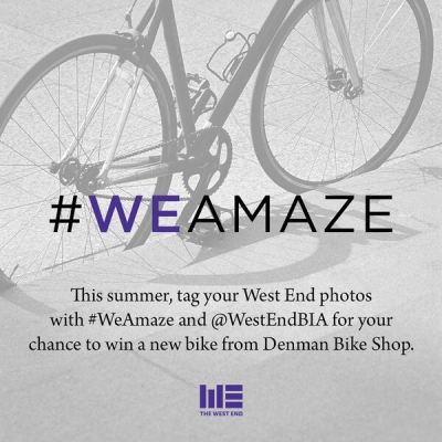 """@westendbia: """"We just launched the #WEAmaze photo contest! Tag your"""