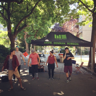 "@westendbia: ""Project Soul are throwing down at #RobsonFair this afternoon!"