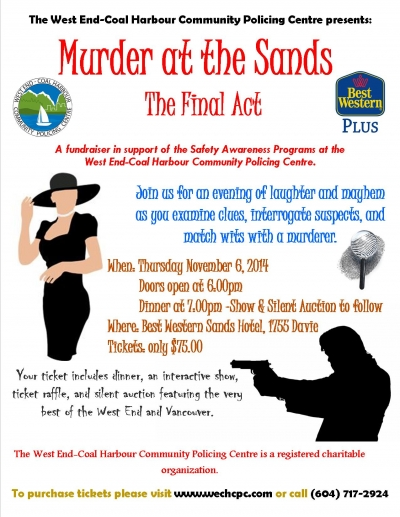 Murder at The Sands: The Final Act
