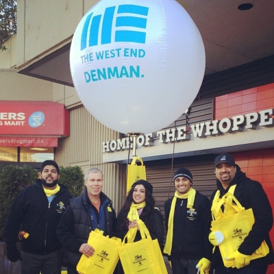 "@westendbia: ""Our Executive Director Stephen Regan is street teaming with"