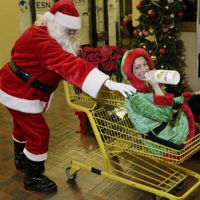 "@westendbia: ""The elf has added rum to the eggnog again!"