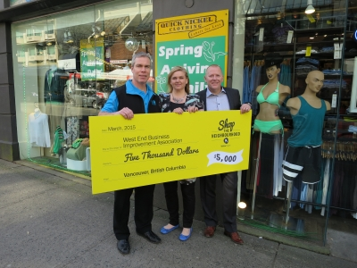 West End BIA wins Yellow Pages' Shop The Neighbourhood Contest