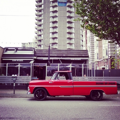 "@westendbia: ""That's one fierce pickup truck, @scoreondavie. #weamaze"""