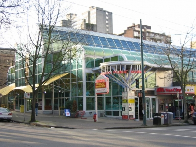 Robson Public Market: Gateway to the Cardero Heritage Stroll