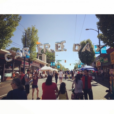 "@westendbia: ""Happy @CarFreeWestEnd! Have you made your way to Denman"