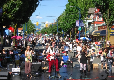 Celebrating Community Culture at Car Free West End