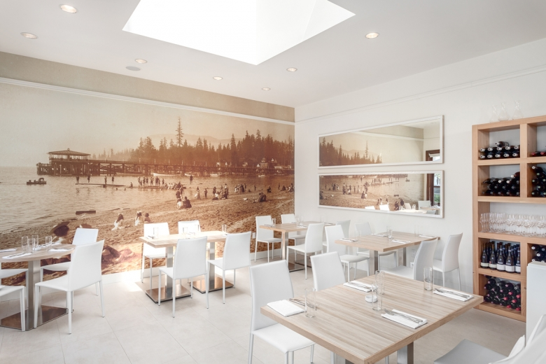 ... Beach Views From Both The Heated Patio And Dining Room. The Redesigned  Interiors Of The Space Have Incorporated Local Materials To Create A  Contemporary ...