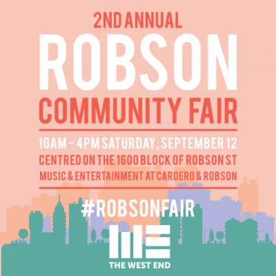 What's on at Robson Community Fair