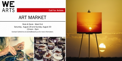 WE Arts Art Market – Call for Artists