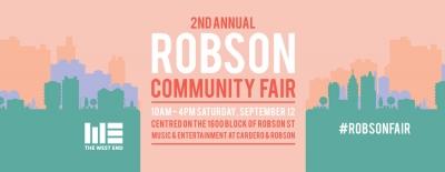 Robson Community Fair is September 12