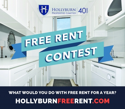 Hollyburn Properties Rewarding 1 Year Free Rent For Community Service