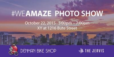 #WeAmaze Photo Show is October 22