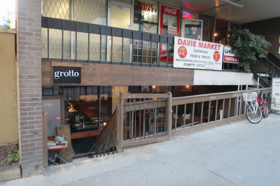Grotto brings Classic Italian to Davie Street