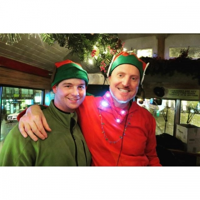 """@westendbia: """"Santa's elves are all done for the night! Big"""