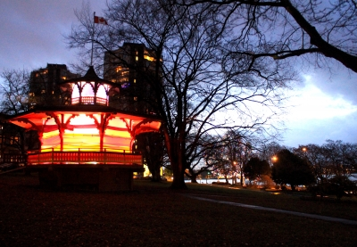 Carlyn Yandle and Burrard Arts Foundation Illuminate the Haywood Bandstand