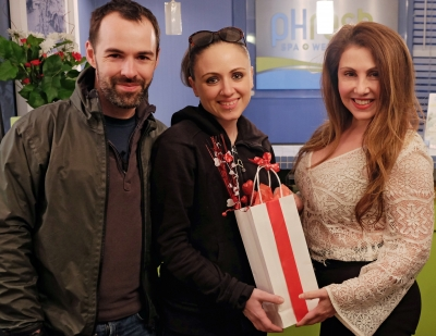 Monika and Morgan, Newlyweds and Love Is In The Air Winners