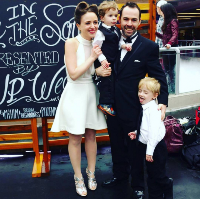Congrats Morgan and Monika! Newlyweds and #VanCupid Winners