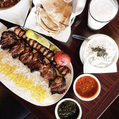 """@westendbia: """"Persian eatery @zeitoon_restaurant has food so authentic that it"""