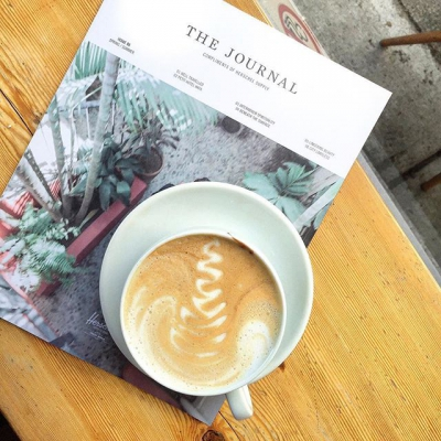 "@westendbia: ""Afternoon coffee vibes @milanoroasters. Loving their new Tiramisu latte!"
