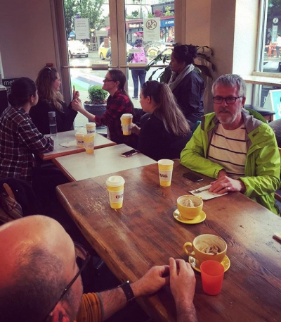 "@westendbia: ""Need a deaf/ASL fix? Check out our coffee social"