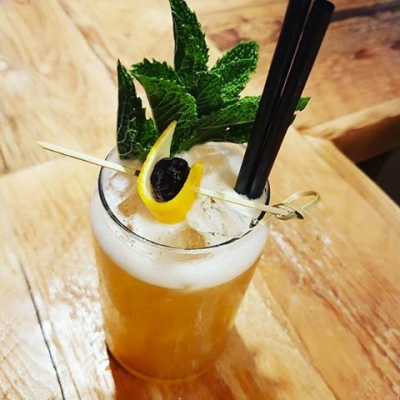 "@westendbia: ""The Denman Street Sling… @ritualyvr launched a new cocktail"
