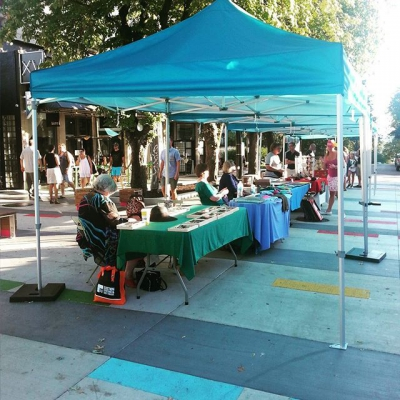 "@jimdevaplaza: ""Beautiful day for an art market. The #weartsmarket is"