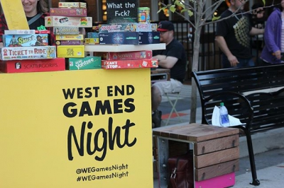 "@jimdevaplaza: ""Games galore at #WestEndGamesNight. Thanks again to @sfupublicsquare for"