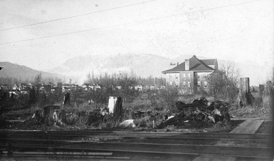 """@westendbia: """"#ThrowbackThursday: In 1901, the corner of Davie and Cardero"""