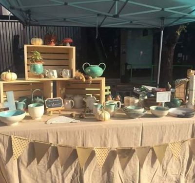 "@jimdevaplaza: ""Today! @vintagehandmadesociety 's Fall Market in the #jimdevaplaza. Swing"