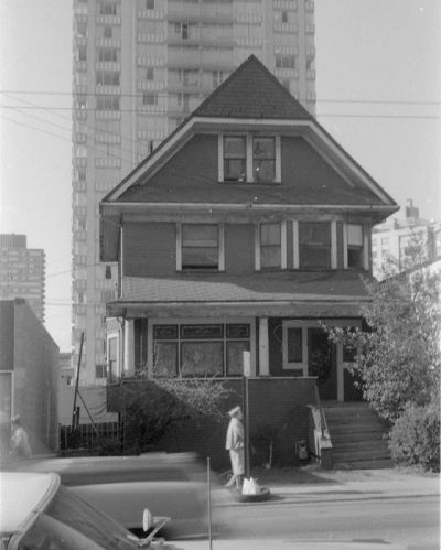 "@westendbia: ""#ThrowbackThursday: The house at 1069 Denman Street in 1968,"