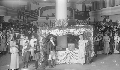 """@westendbia: """"A crowd at the Allied Nations Bazaar at Leister"""